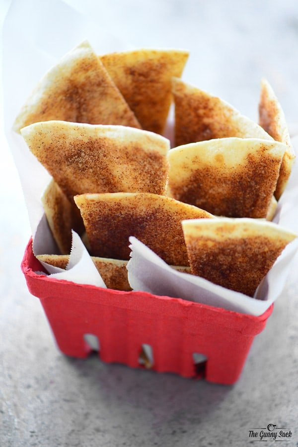 baked cinnamon chips recipe