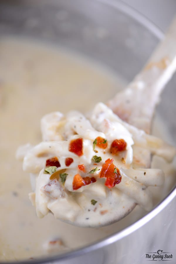 Chicken Alfredo Soup Recipe