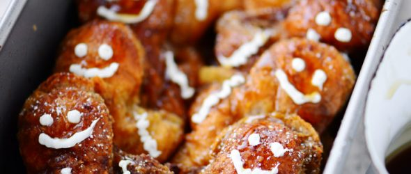Gingerbread Man French Toast