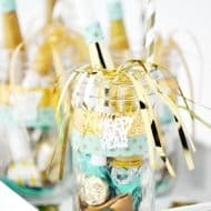 New Year's Eve Mason Jars