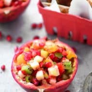 Pomegranate Fruit Salsa