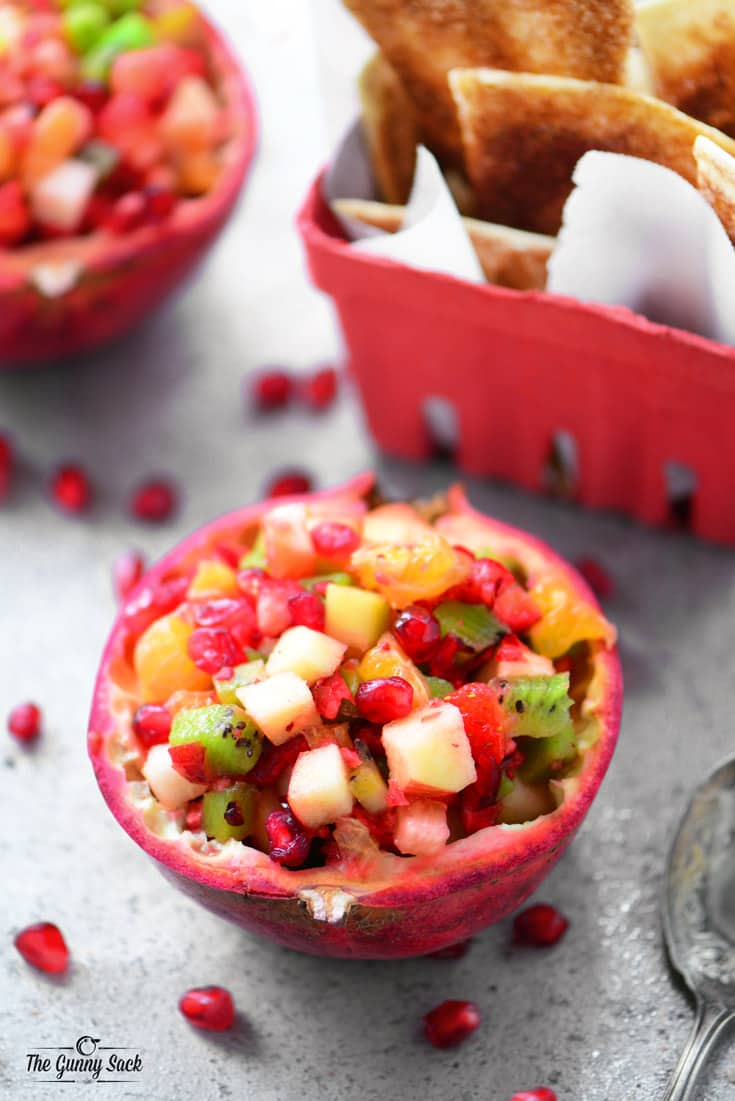 Pomegranate Fruit Salsa - The Gunny Sack