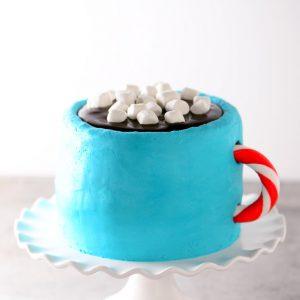 Hot Cocoa Cake Recipe