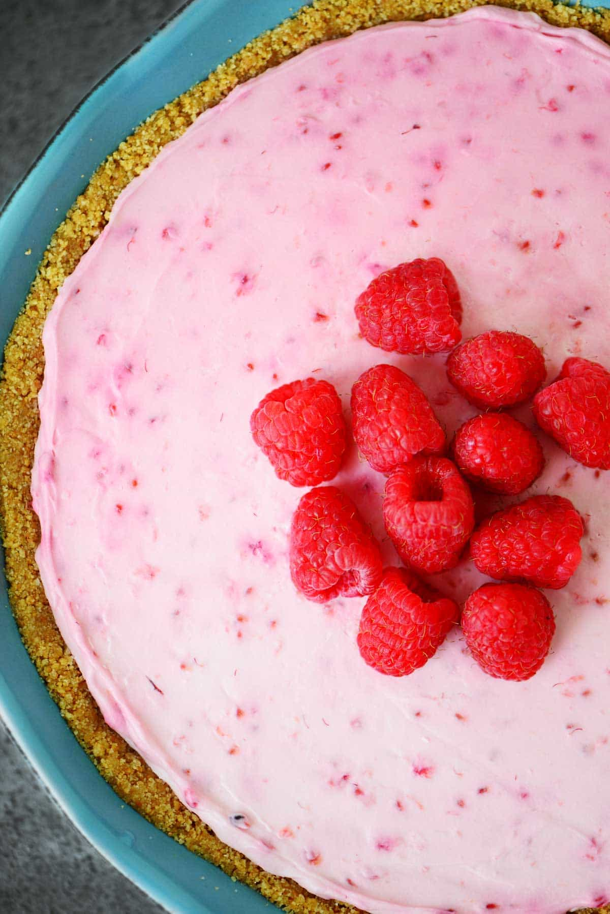 No Bake Raspberry Cheesecake Recipe