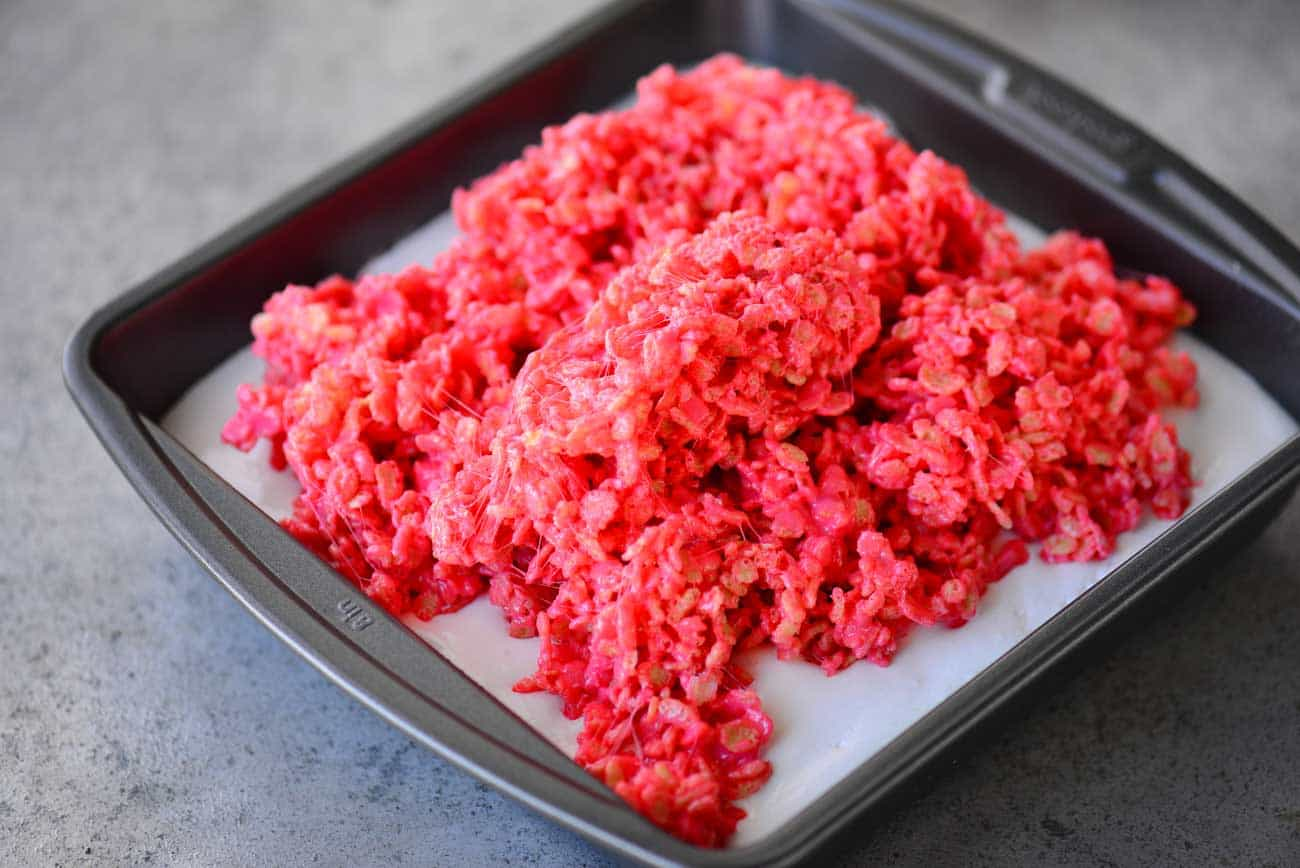 Red Rice Krispies Treats