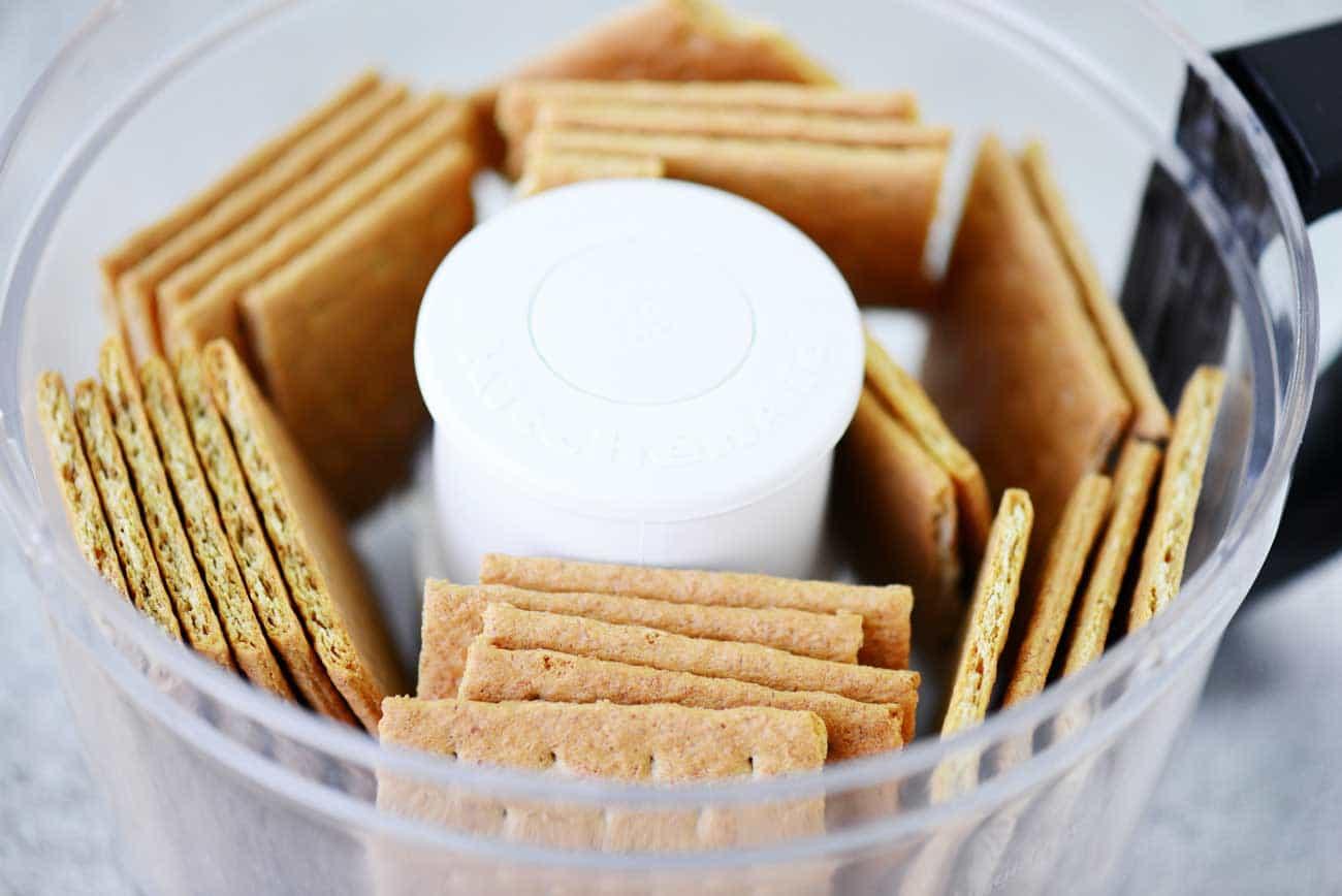 Graham Crackers in Food Processor