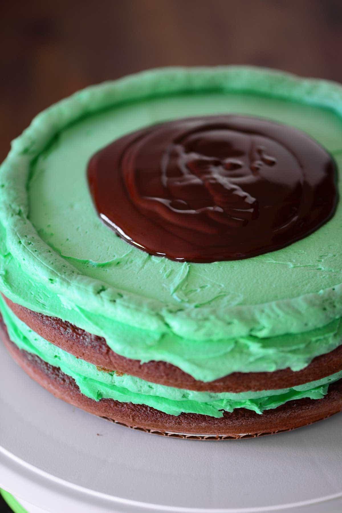 Grasshopper Cake Recipe