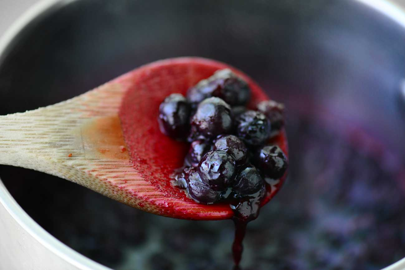 Blueberry Sauce Recipe - The Gunny Sack