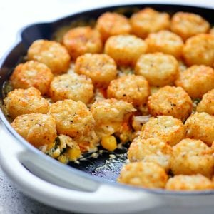 Tater Tot Chicken Pot Pie Recipe