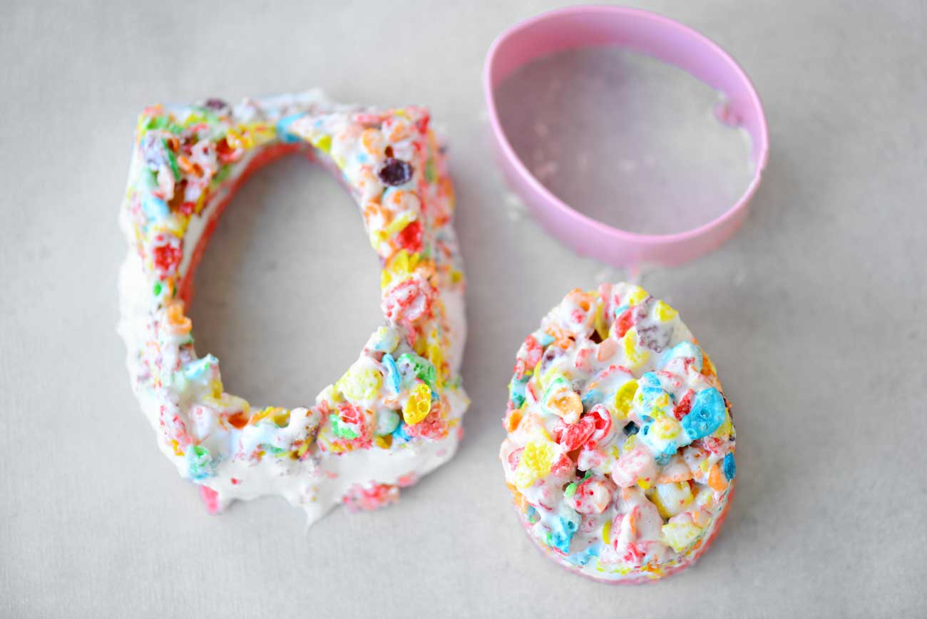 Easter Egg Ooey Gooey Bars Recipe