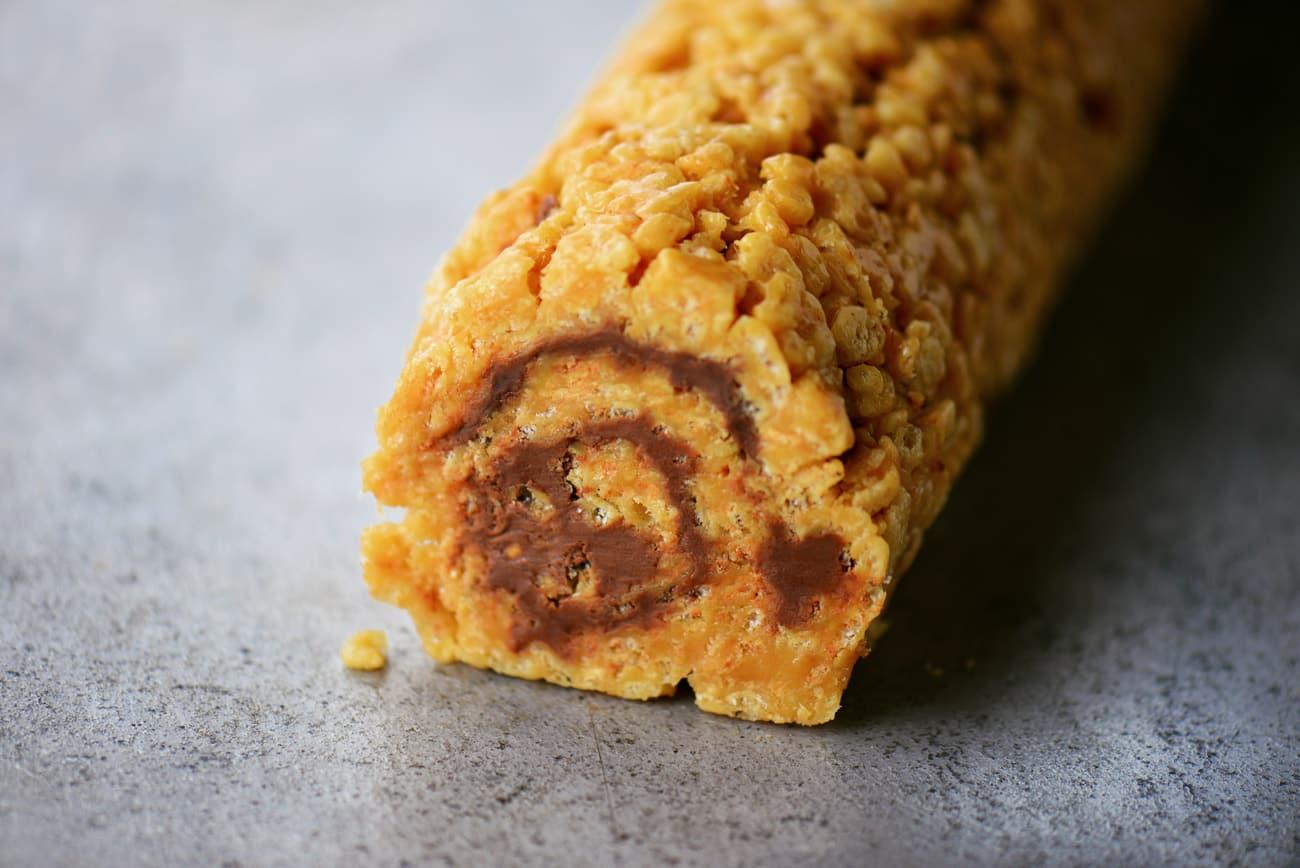 Scotcharoos Cake Roll