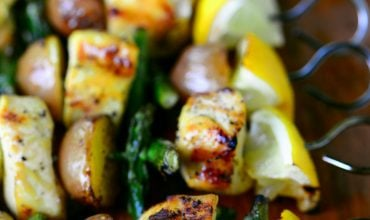 Lemon Pepper Chicken Kabobs