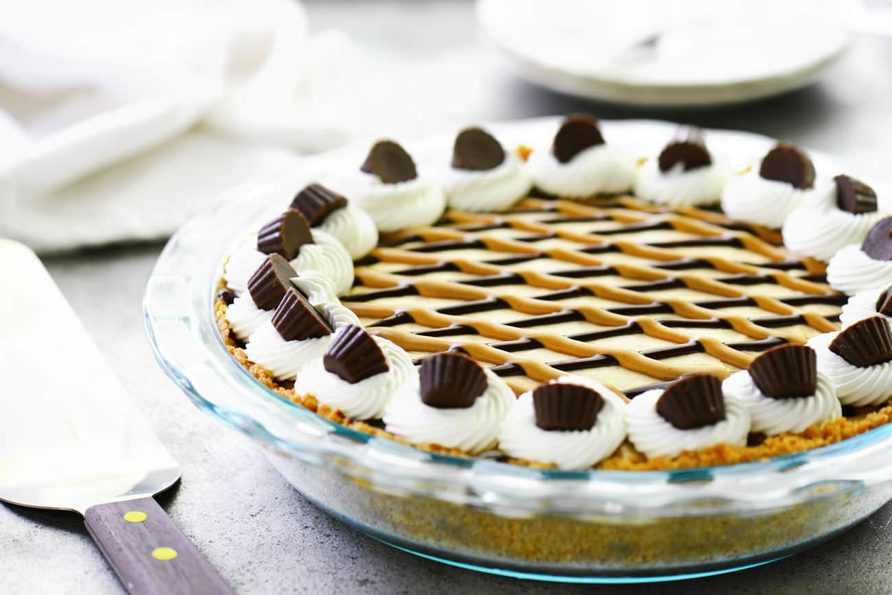 Peanut Butter Pie with Cream Cheese