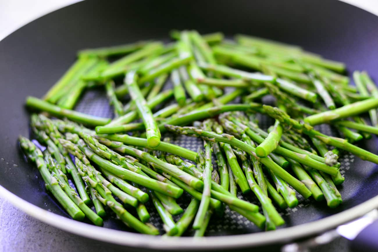 Asparagus Pan Fried