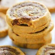Flourless Chocolate Peanut Butter Swirl Cookies