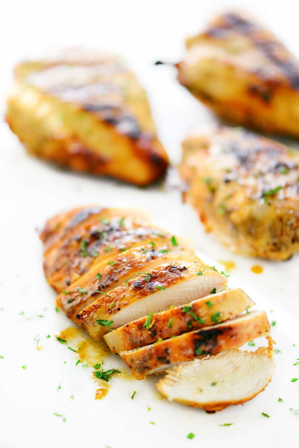 Garlic and Herb Chicken sliced