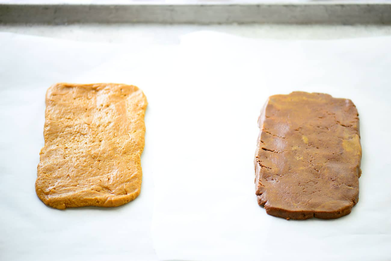 Peanut Butter Cookie Dough Squares