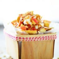 Apple Nachos Recipe with Cinnamon Chips