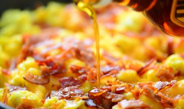 Pancake Breakfast Pizza Recipe