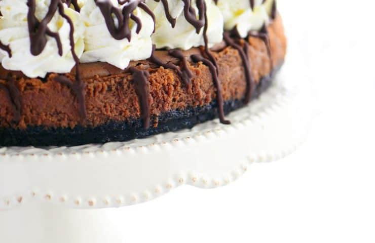 Triple Chocolate Mousse Cheesecake Recipe