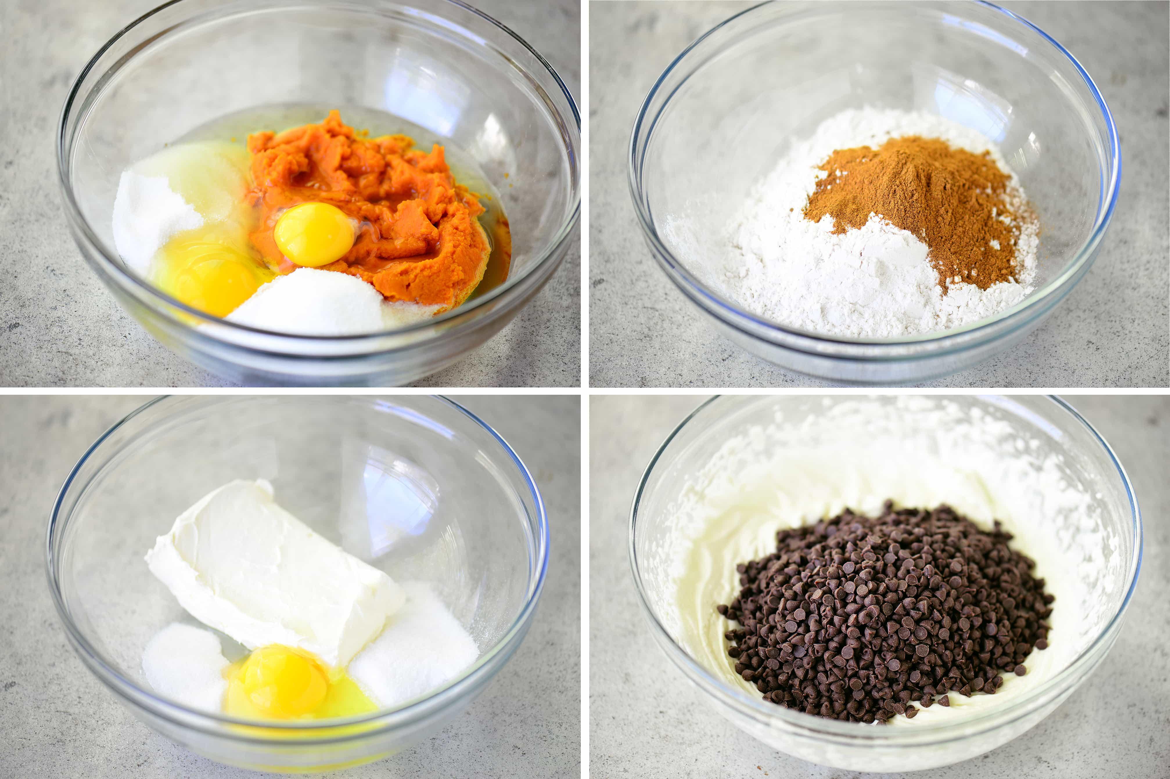 Pumpkin Cream Cheese Muffin Batter Recipe