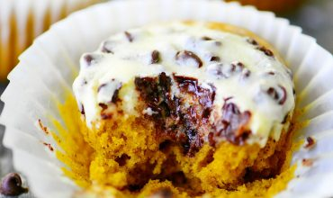 Pumpkin Cream Cheese Muffins With Chocolate Chips
