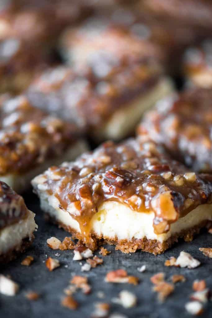 Pecan Pie Cheesecake Dessert Recipe The Gunny Sack