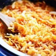 Slow Cooker Cheesy Potato Casserole