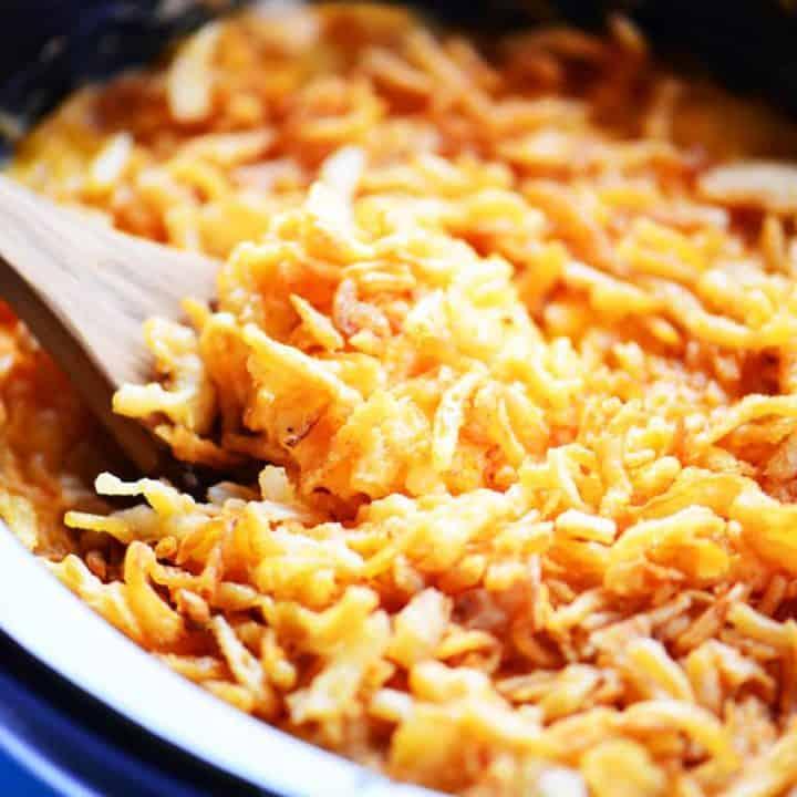 Slow Cooker Cheesy Potato Casserole Recipe