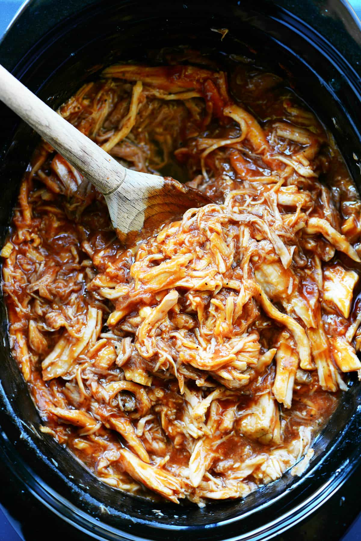 Slow Cooker Pulled Pork Recipe - The Gunny Sack