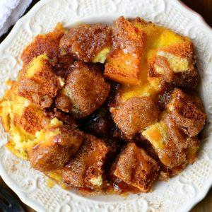 Eggnog French Toast Bake Recipe