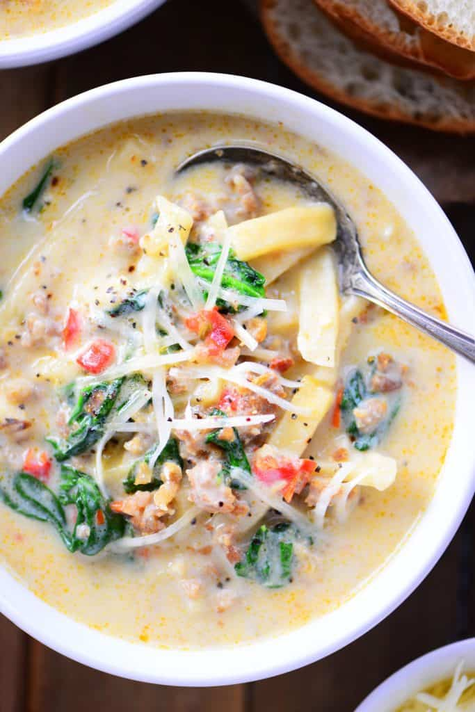 Italian Sausage Soup Recipe - The Gunny Sack