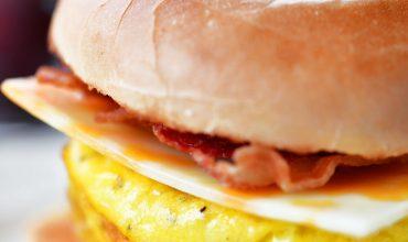 Bacon Egg Cheese Bagel Sandwich Meal Prep Recipe