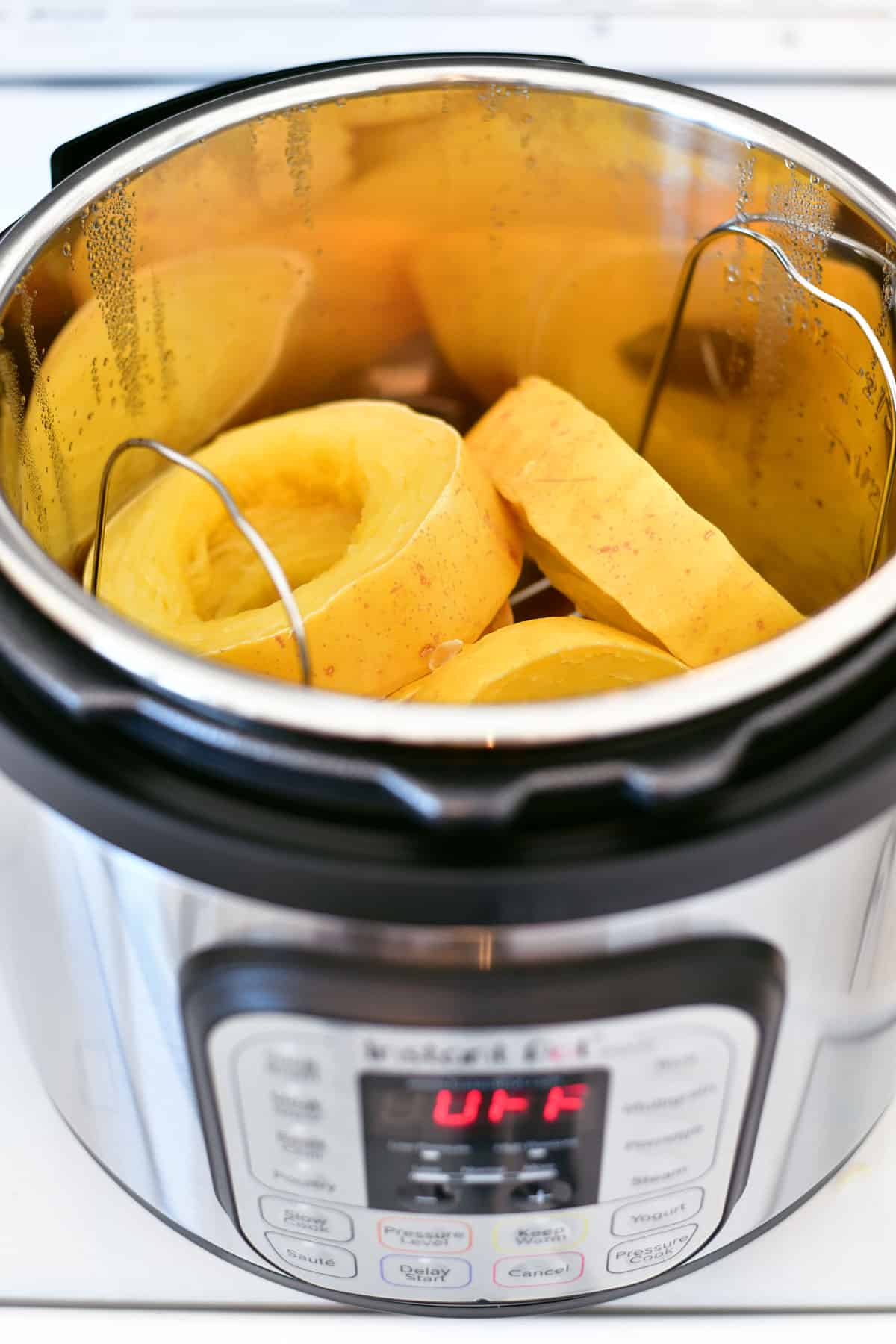 Instant Pot with Spaghetti Squash