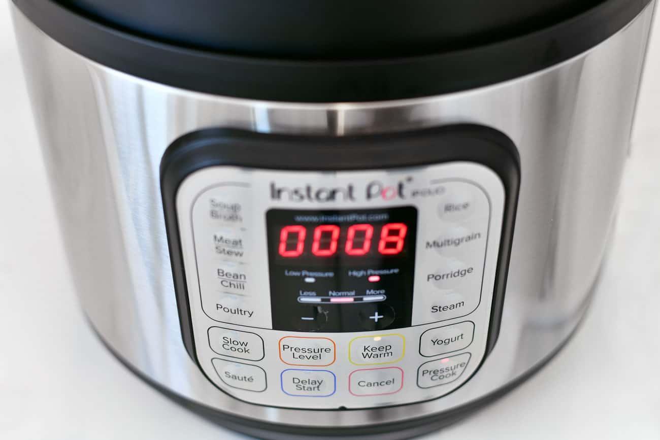 Pressure Cooker Spaghetti Squash