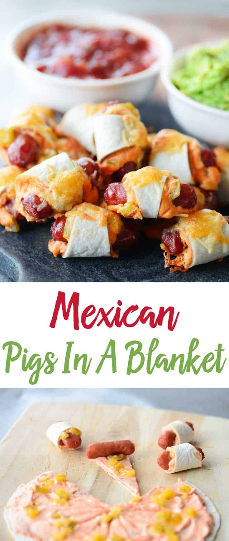 Mexican Pigs In A Blanket Pinterest Collage