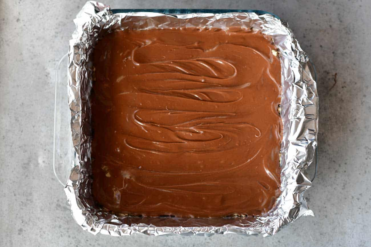 chocolate frosted peanut butter bars