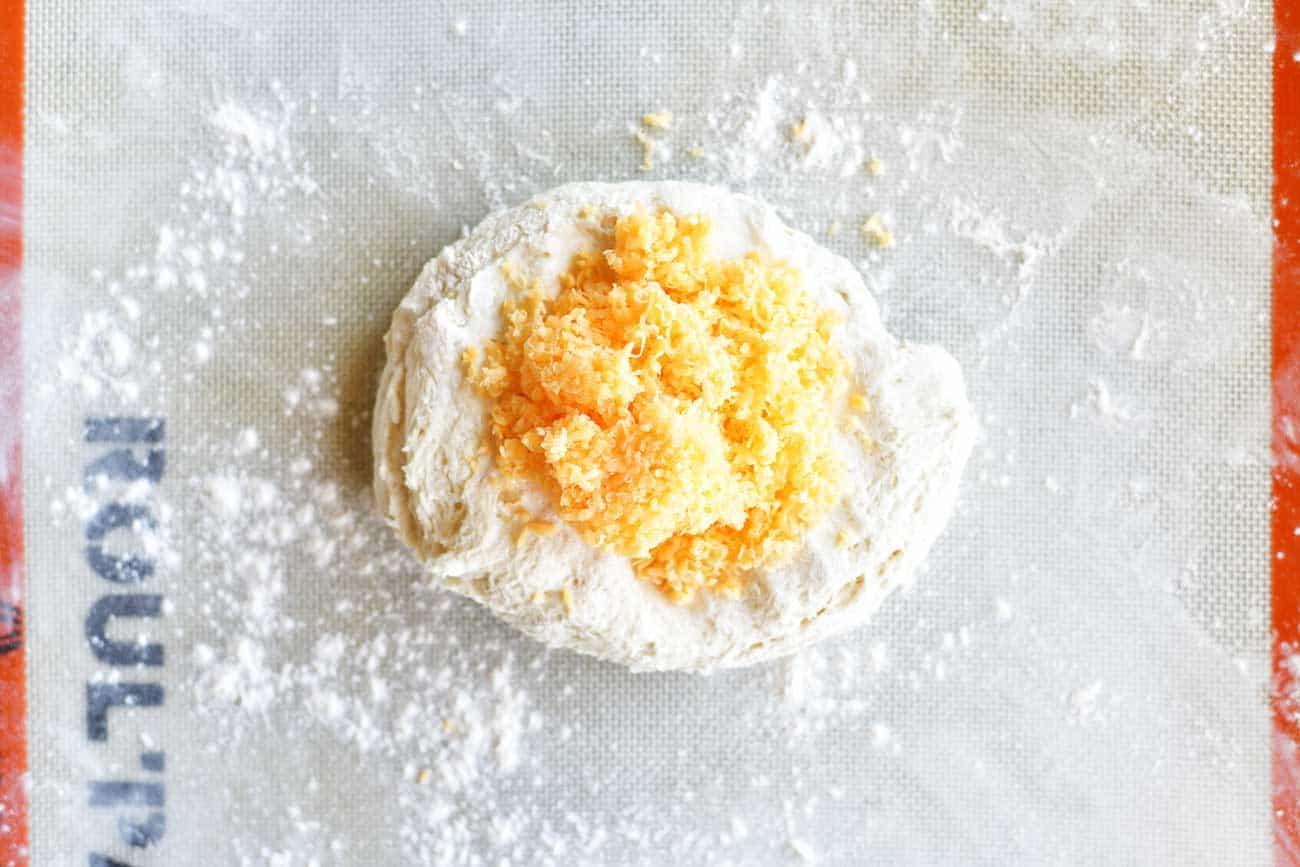 Two Ingredient Dough Garlic Cheddar Rolls The Gunny Sack
