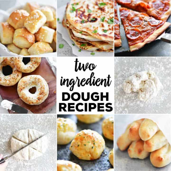 two ingredient dough recipes