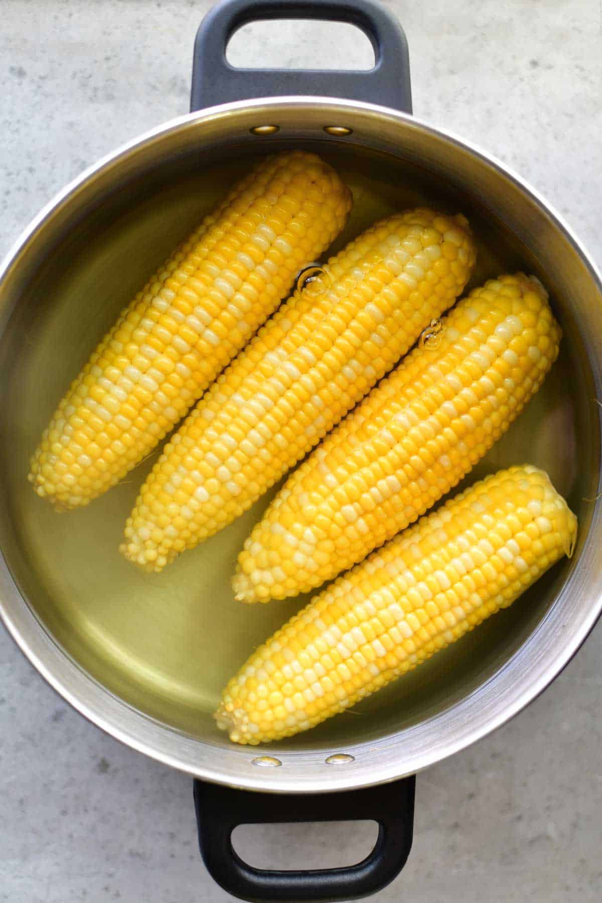 How long do you have to cook fresh corn on the cob