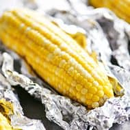 Oven Roasted Foil Wrapped Corn On The Cob