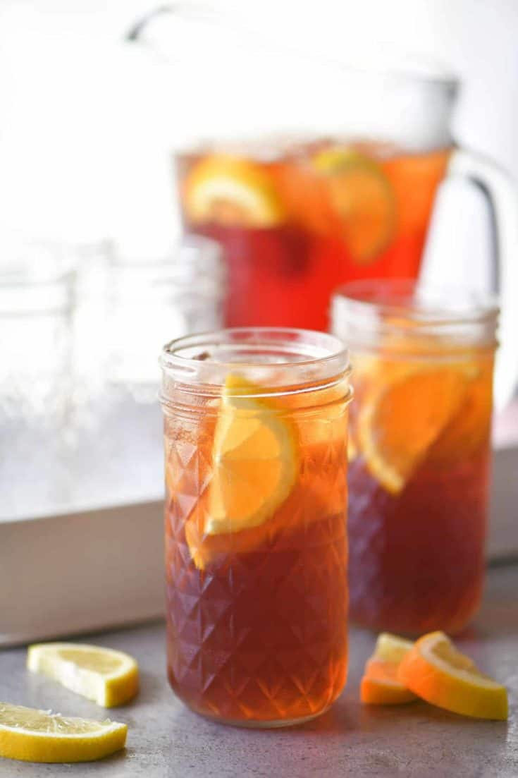 Sweet Tea Recipe The Gunny Sack
