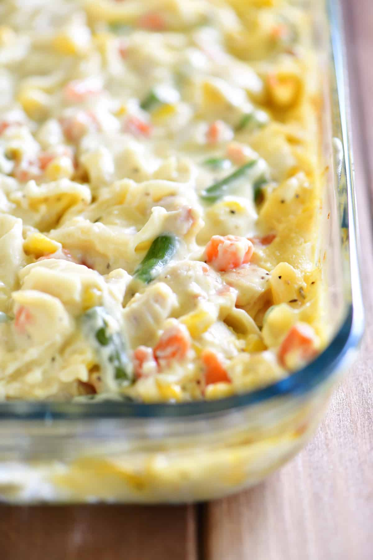 chicken noodle soup casserole recipe