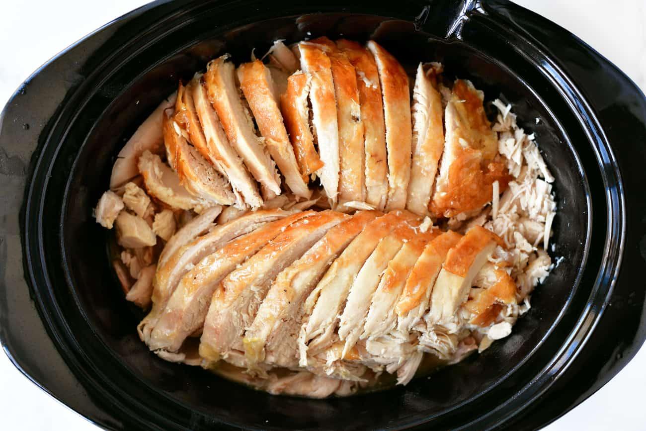 roasted turkey in slow cooker