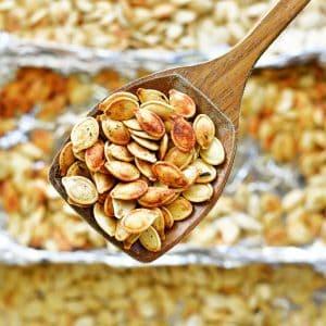 roasting pumpkin seeds recipe
