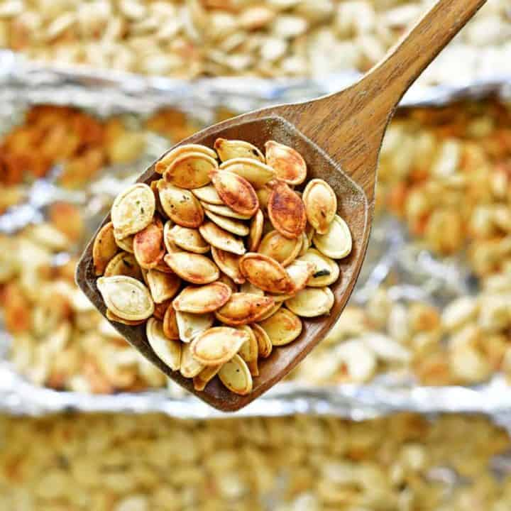 roasting pumpkin seeds recipe