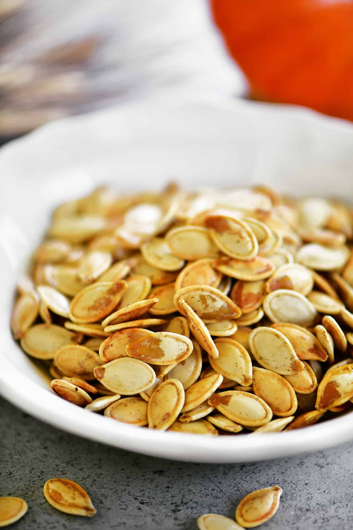 seasoned salt roasted pumpkin seeds