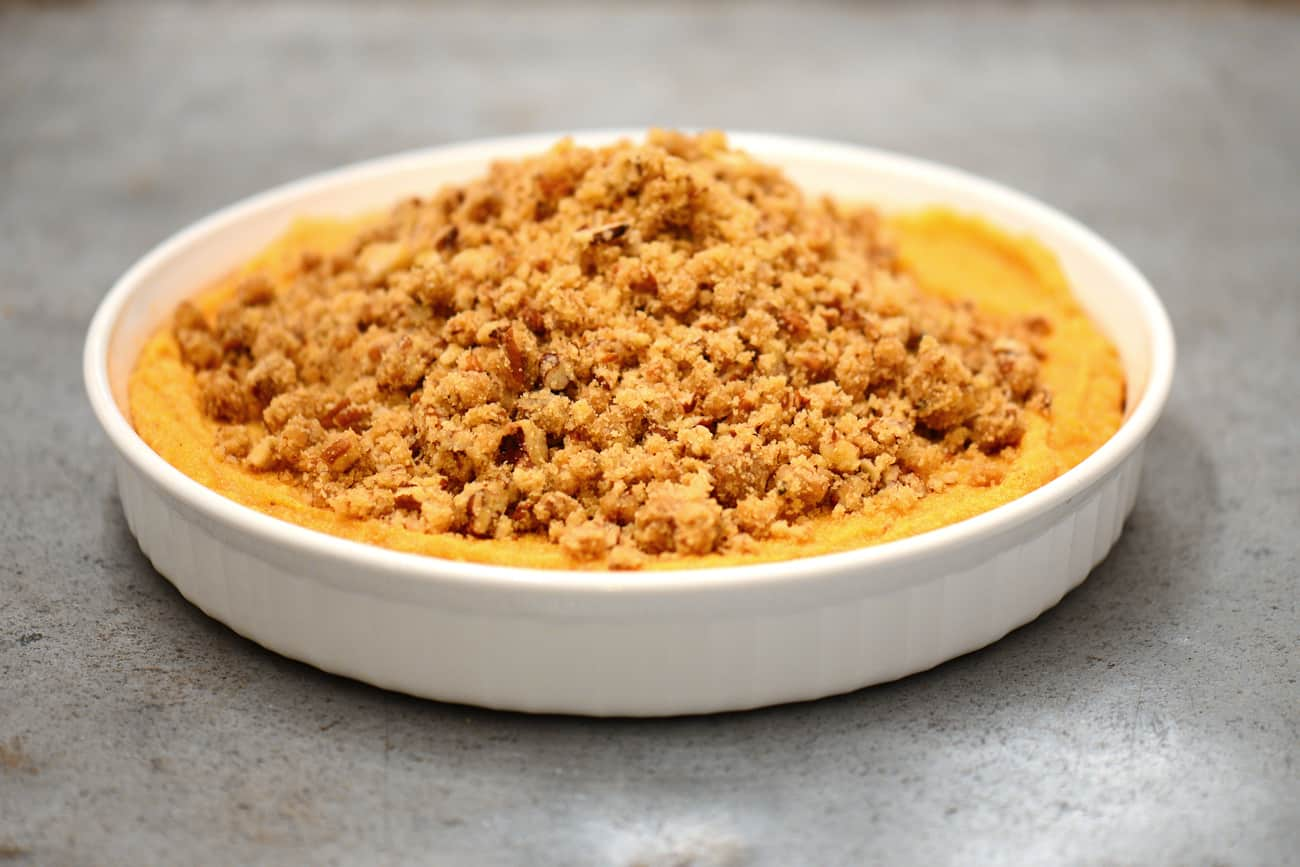 sweet potato casserole topping
