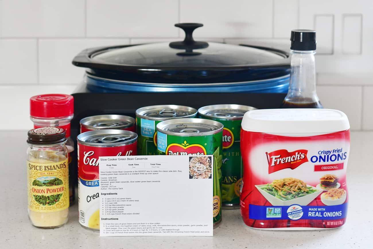 Thanksgiving countdown planner ingredients