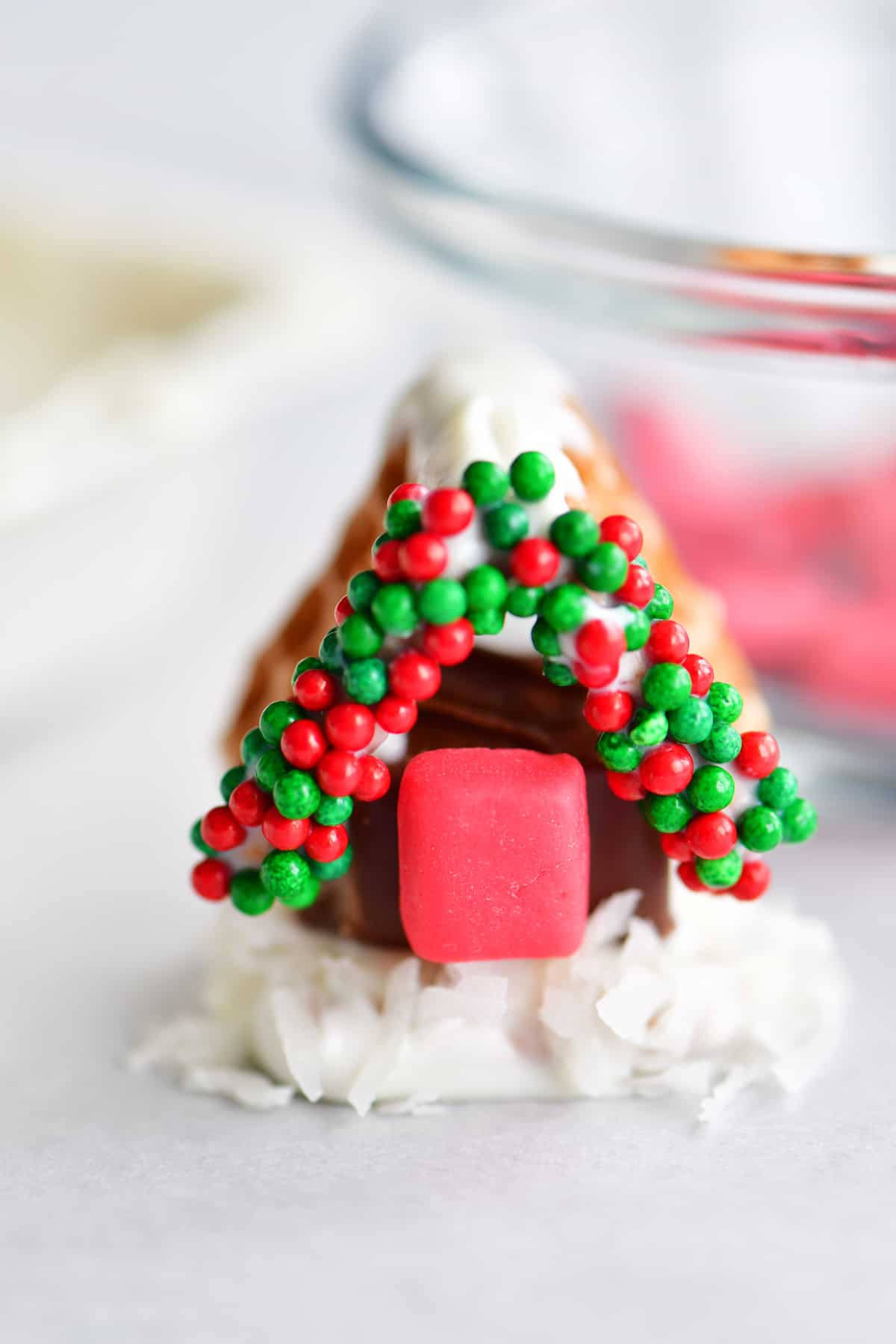 mini candy house door